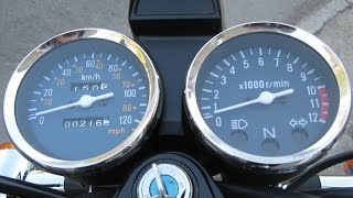 getlinkyoutube.com-Benyco BR 125, przyspieszenie :-)