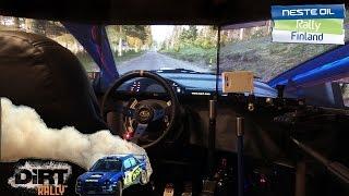 getlinkyoutube.com-Dirt Rally. Finland. Updated cockpit!