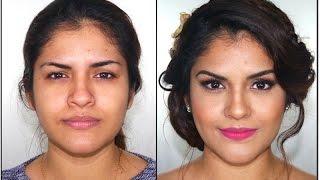 getlinkyoutube.com-Maquillaje para Novia Romantica- Romantic Bridal Makeup