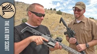 getlinkyoutube.com-$3,000 AR-15 vs $1,000 AR-15: Lightweight Carbines Compared (with DocTacDad)