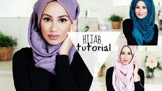 getlinkyoutube.com-The Perfect Hijab Tutorial for Spring!