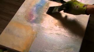getlinkyoutube.com-Uncut, Ungeschnitten:Acrylmalerei, Tusche, Farben, Strukturen, lange Version. Acrylic Painting