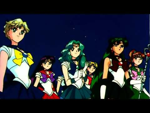 Sailor Neptune Transformation & Attack (HD)
