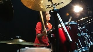 getlinkyoutube.com-Two Steps From Hell - Heart of Courage  Drum Cover by Nur Amira Syahira