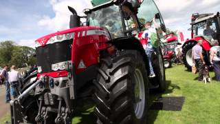 Massey Ferguson at the Royal Highland Show 2014