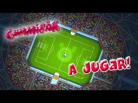 Gummibär - A Jugar! - World Cup Soccerfootball Song - Span