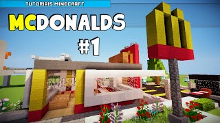 getlinkyoutube.com-Minecraft: Como Construir um McDonald's (Parte 1)