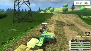 Farming Simulator 13 - Retro Wieś [#25] - Prawilne prasowanie