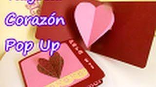 getlinkyoutube.com-Tarjeta de Corazón Pop Up para SAN VALENTIN