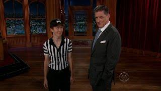 getlinkyoutube.com-Late Late Show with Craig Ferguson 9/25/2012 Tom Selleck, June Diane Raphael