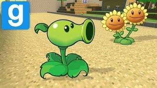 getlinkyoutube.com-Garry's Mod - PLANTS VS ZOMBIES MOD