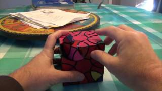 getlinkyoutube.com-Clover Cube Tutorial Part 1:  Algorithms and the scramble