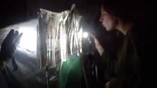 getlinkyoutube.com-Shadow Theatre at the London School of Puppetry: Making Screens