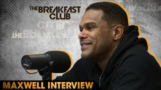 Maxwell Interview at The Breakfast Club Power 105.1, April '16