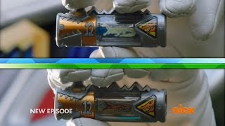 getlinkyoutube.com-Power Rangers Dino Charge - True Black - Dino Armor X Attempt #2
