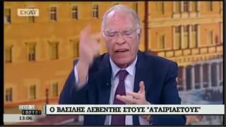 getlinkyoutube.com-Β. Λεβέντης / SKAI, Αταίριαστοι / 20-1-2017