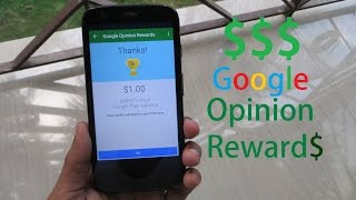 getlinkyoutube.com-How To Get Google Opinion Rewards In Any Country And Earn Free Credit!