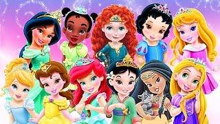 getlinkyoutube.com-Baby Disney Princess Compilation Movie 2016 - Baby Games for Kids