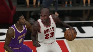 getlinkyoutube.com-NBA 2K15 Xbox One Gameplay - Michael Jordan('97-'98) vs Kobe Bryant('97-'98) Lakers vs Bulls