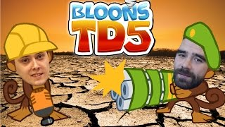 getlinkyoutube.com-Darmowe Gry Online - Bloons TD5 - Spalona ziemia!