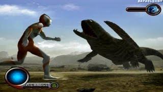 getlinkyoutube.com-Ultraman PS2 (2nd Story Part 3) Ultraman vs Kemular HD