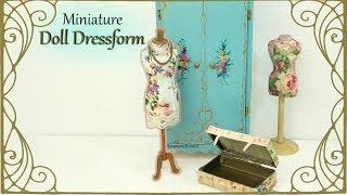 getlinkyoutube.com-Easy Dress Form from Cardstock & Fabric - Tutorial