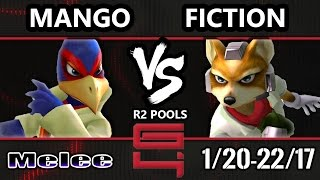 Genesis 4 SSBM - C9 Mango (Falco) Vs. Fiction (Fox) Smash Melee R2 Pools