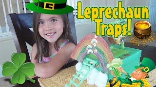 getlinkyoutube.com-LEPRECHAUN TRAPS 2015!  Happy St. Patrick's Day!