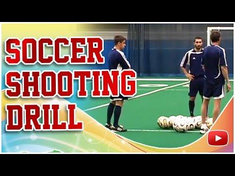Winning Soccer - Shooting Drill to Score More Goals - Coach Joe Luxbacher