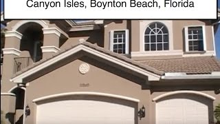 Luxury Bank Owned Home for Sale in Canyon Isles, Boynton Beach, FL -