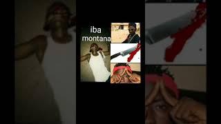 La mort de iba montana