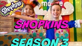 getlinkyoutube.com-SHOPKINS SEASON 3 - 12 PACK and 5 PACK opening HUNT for LIMITED EDITION Moose Toys Package