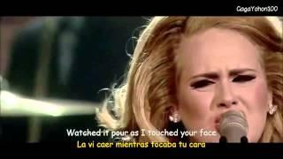getlinkyoutube.com-Adele   Set Fire To The Rain Lyrics   Sub Español Video Official