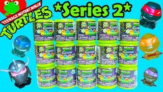 getlinkyoutube.com-Teenage Mutant Ninja Turtles Mashems Series 2 Full Set