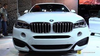 getlinkyoutube.com-2015 BMW X6 xDrive 50i - Exterior and Interior Walkaround - 2014 LA Auto Show
