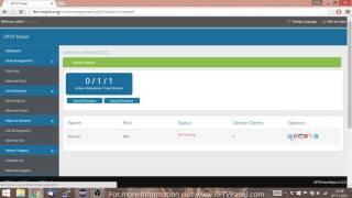 getlinkyoutube.com-iIPTVPanel v1.2.0 Trailer - Stream your own IPTV Channels