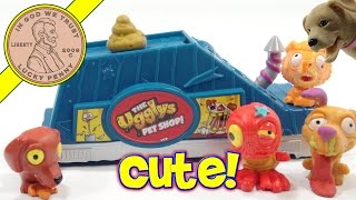 getlinkyoutube.com-The Ugglys Pet Shop Pet Store - Bonus Blind Bag! Chico Visits! | Kids Meal Toys | LuckyPennyShop.com