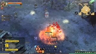 getlinkyoutube.com-Tree Of Savior KR - Pyromancer C3 Skill In Action