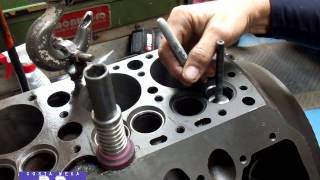getlinkyoutube.com-Ford Flathead V-8 Valve Seat Grinding