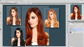 getlinkyoutube.com-โฟโต้ชอป cs6 : 40 เทคนิคน่ารู้ - #12 สอนวิธีเปลี่ยนสีผมแบบมืออาชีพ change hair color