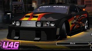 getlinkyoutube.com-Need For Speed Underground 2 Ford Mustang GT tuning by RASTAKITTEN
