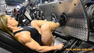 IFBB Pro Juliana Malacarne | Training at the East Coast Mecca!