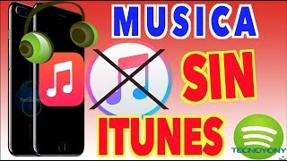 Pasar Musica al iPhone SIN iTunes 2017  - Alternativa a iTunes - Añadir Musicas iPhone