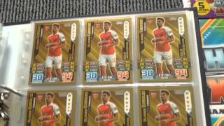 Complete Match Attax 2015-16 Binder with Master Card Part 2