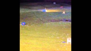 Practicing at Playsport Golf East Kilbride