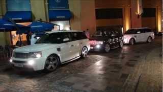 getlinkyoutube.com-Range Rover Gang in Dubai, U.A.E Full HD!!!