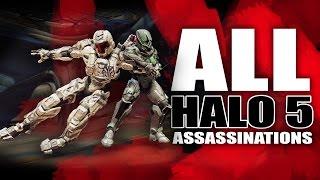 getlinkyoutube.com-Halo 5 | All Assassinations Montage