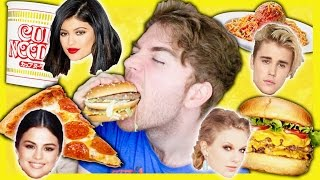 getlinkyoutube.com-TASTING CELEBRITIES FAVORITE FOODS