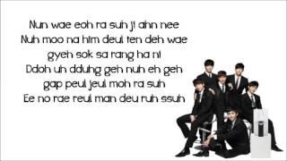 getlinkyoutube.com-2PM  - Thank you (lyrics)