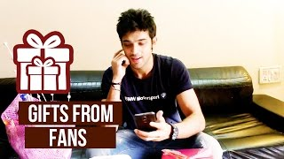 getlinkyoutube.com-Parth Samthaan Receives Gifts from Fans!